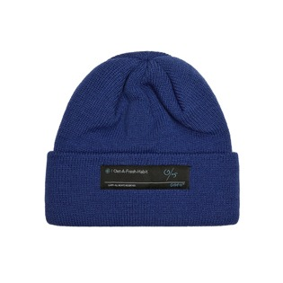2021 GAFH LOGO LABEL BEANIE BLUE 가프