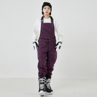 2021 INSTAY COMPOUND PANTS OVERAL BLUE BERRY 인스테이 컴파운드 멜빵 보드복팬츠 블루베리