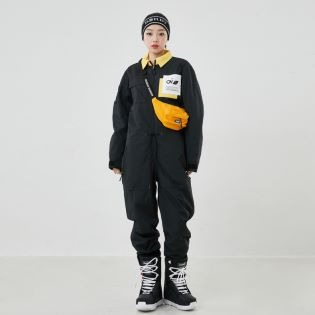 2021 OVYO OUTRO JUMPSUIT BLK 오비오 아우트로 점프수트 블랙