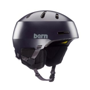 2021 BERN MACON 2.0 SNOW HELMET SATIN DEEP PURPLE 번 마콘 사틴 딥퍼플